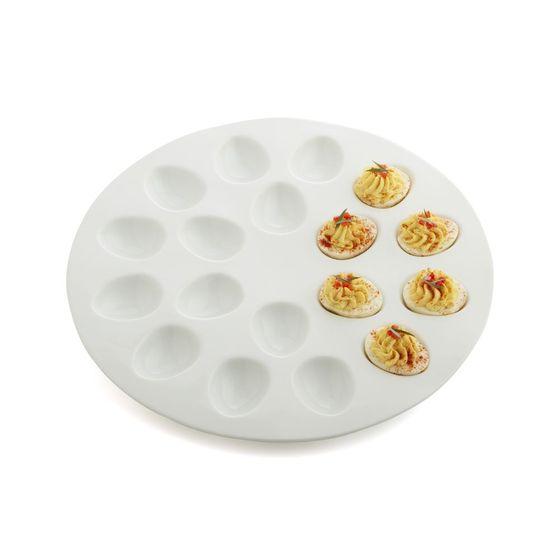 Bandeja-para-Huevos-de-Ceramica-Blanca