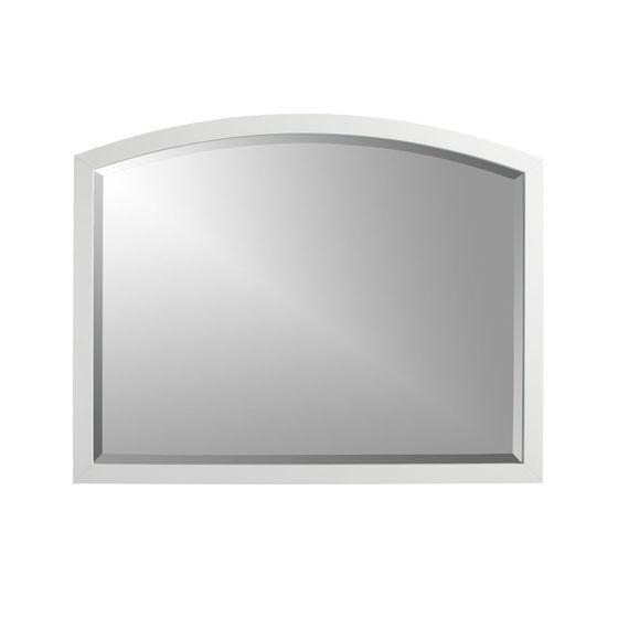 Espejo de pared rectangular arch blanco cratebarrelco for Espejo rectangular pared