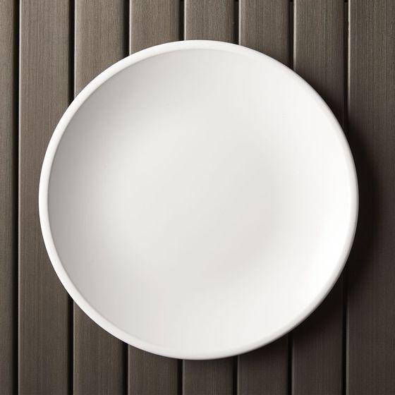 Plato-de-Melamina-Lunea-de-27cm-Blanco