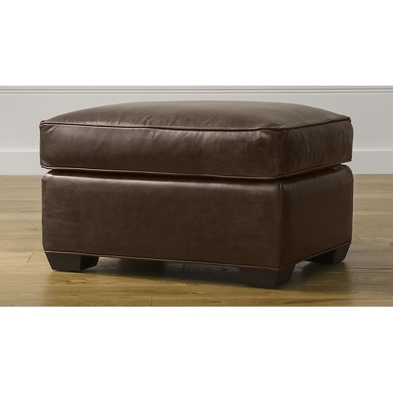 Cuero em Muebles - Muebles de Sala - Otomanes & Puffs – cratebarrelco