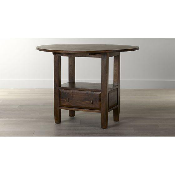 Mesa de comedor miel basque de 208 cm cratebarrelco - Mesa alta comedor ...