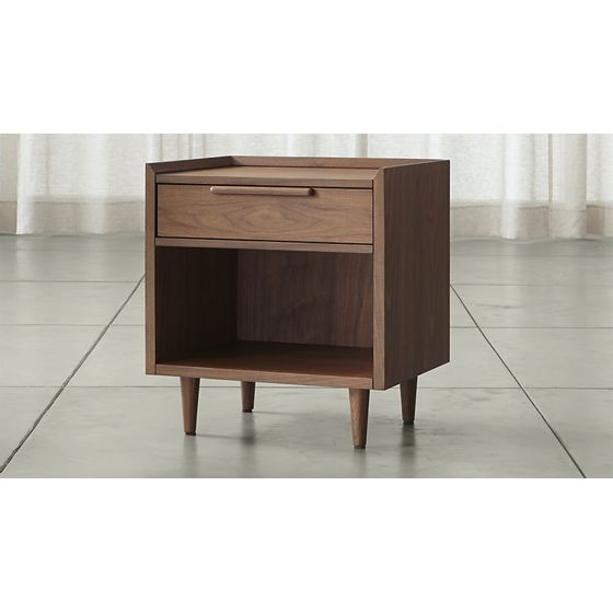 Muebles - Muebles de Dormitorio - Mesas de Noche Madera – cratebarrelco