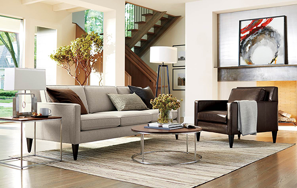 Muebles de sala for Modelos sillones para living modernos