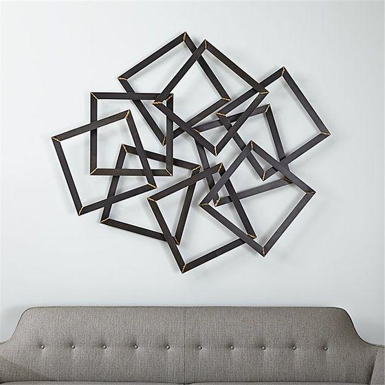Decoracion-para-Pared-Cuadrados-Multiples-de-Metal