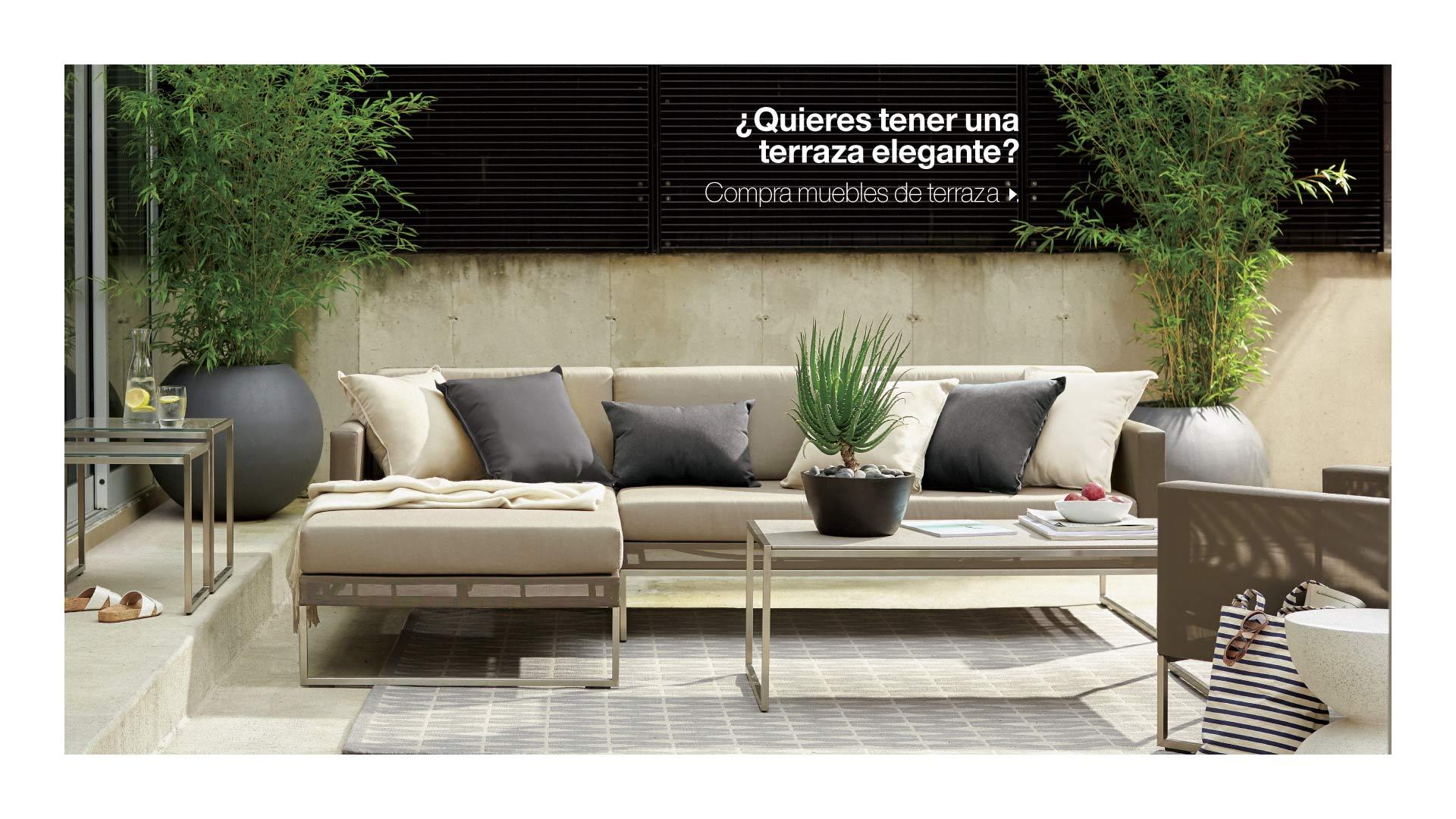 Terraza Crate Barrel Colombia # Nit Muebles Y Accesorios Sa