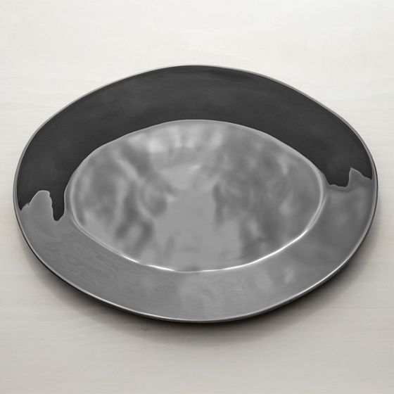 Bandeja-Oval-Marin-Gris-Oscuro-51cm