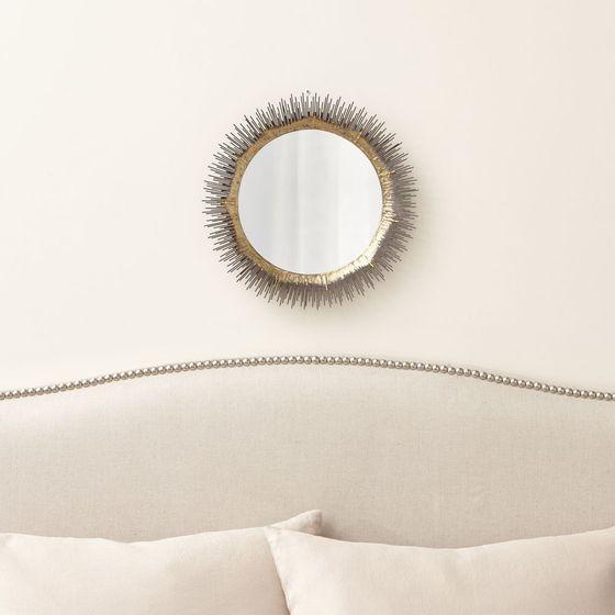 Espejo de pared redondo clarendon peque o cratebarrelco - Espejos redondos pequenos ...