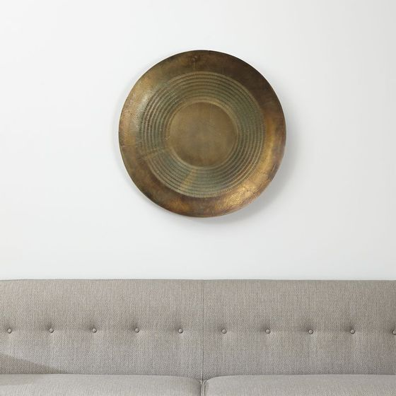Arte-de-Pared-de-Metal-Disc