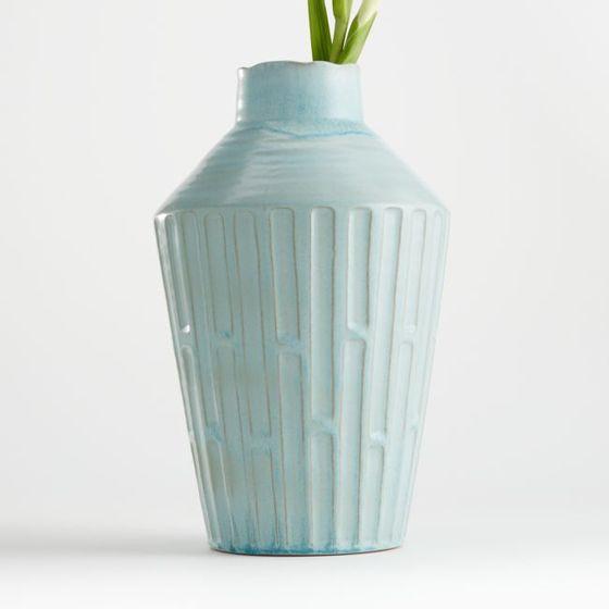 Florero-Izma-Azul