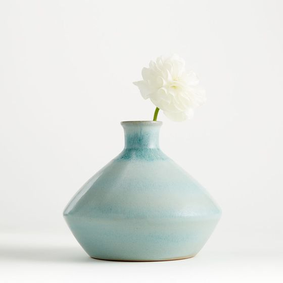 Florero-Azul-Menta-Mireya