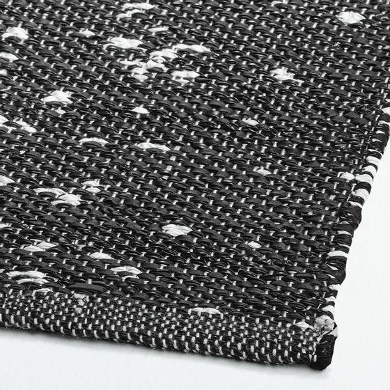 Alfombra-Tresello-Negra-Exterior-Interior-152x244-cm