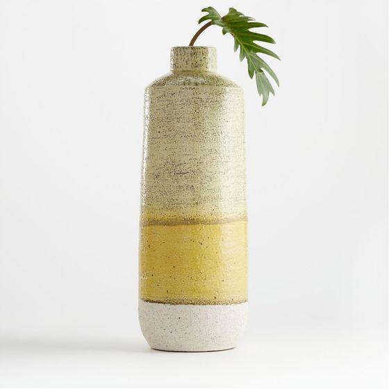 Florero-Sol-Amarillo-en-Ceramica-