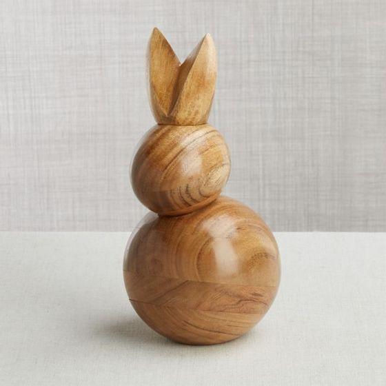 Conejo-en-Madera-Pequeno
