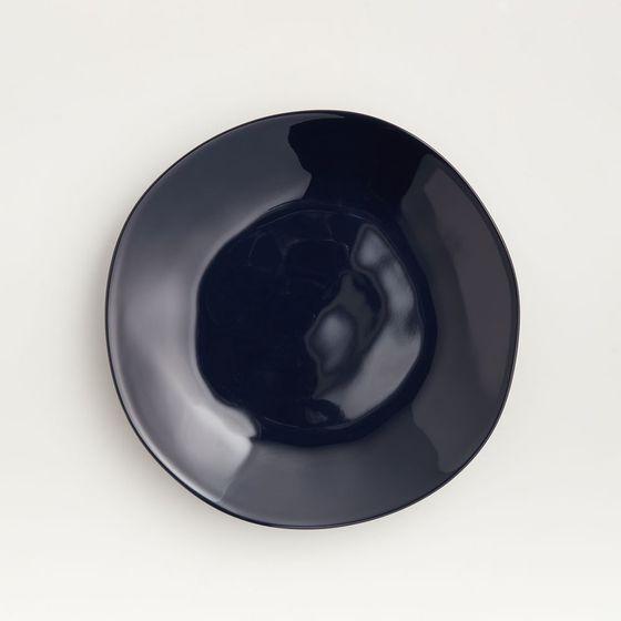 Plato-para-Ensalada-de-Melamina-Marin-Azul-Oscuro-21-cm