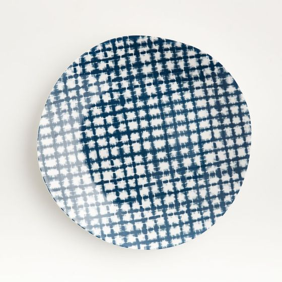 Plato-Principal-de-Melamina-Marin-Shibori-27-cm