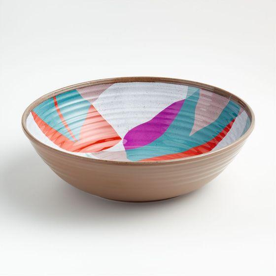 Bowl-de-Servir-Melamina-Caprice-Floral-31-cm