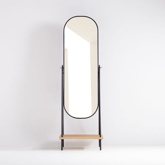 Espejo-de-Piso-Louhan-Negro-184-x-57-cm