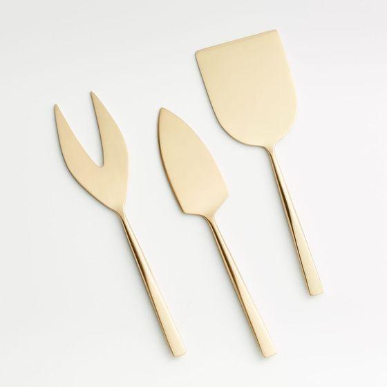 Set-x3-Cuchillos-de-Queso-Dorados