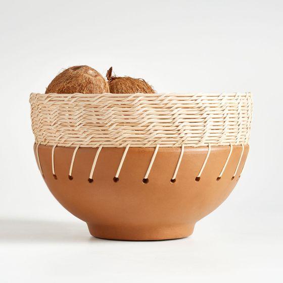 Bowl-Kavir-Terracota-y-Ratan-30cm