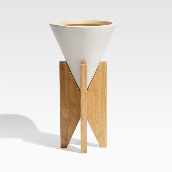 Matera-Eero-Blanca-con-Soporte-en-Madera-27x50-cm