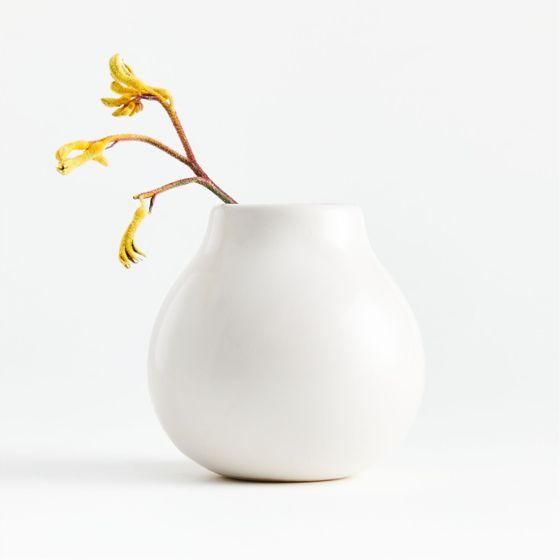 Florero-Patine-Crema-10x10-cm