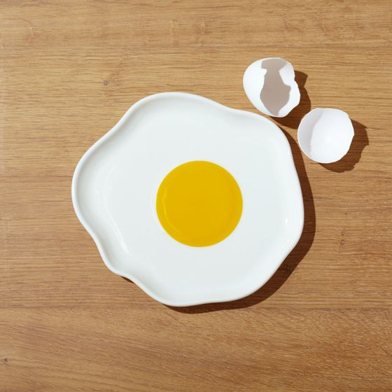 Plato-Huevo